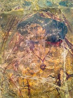 Fresco from Qusayr Amra (detail), Pergamon Museum, Berlin