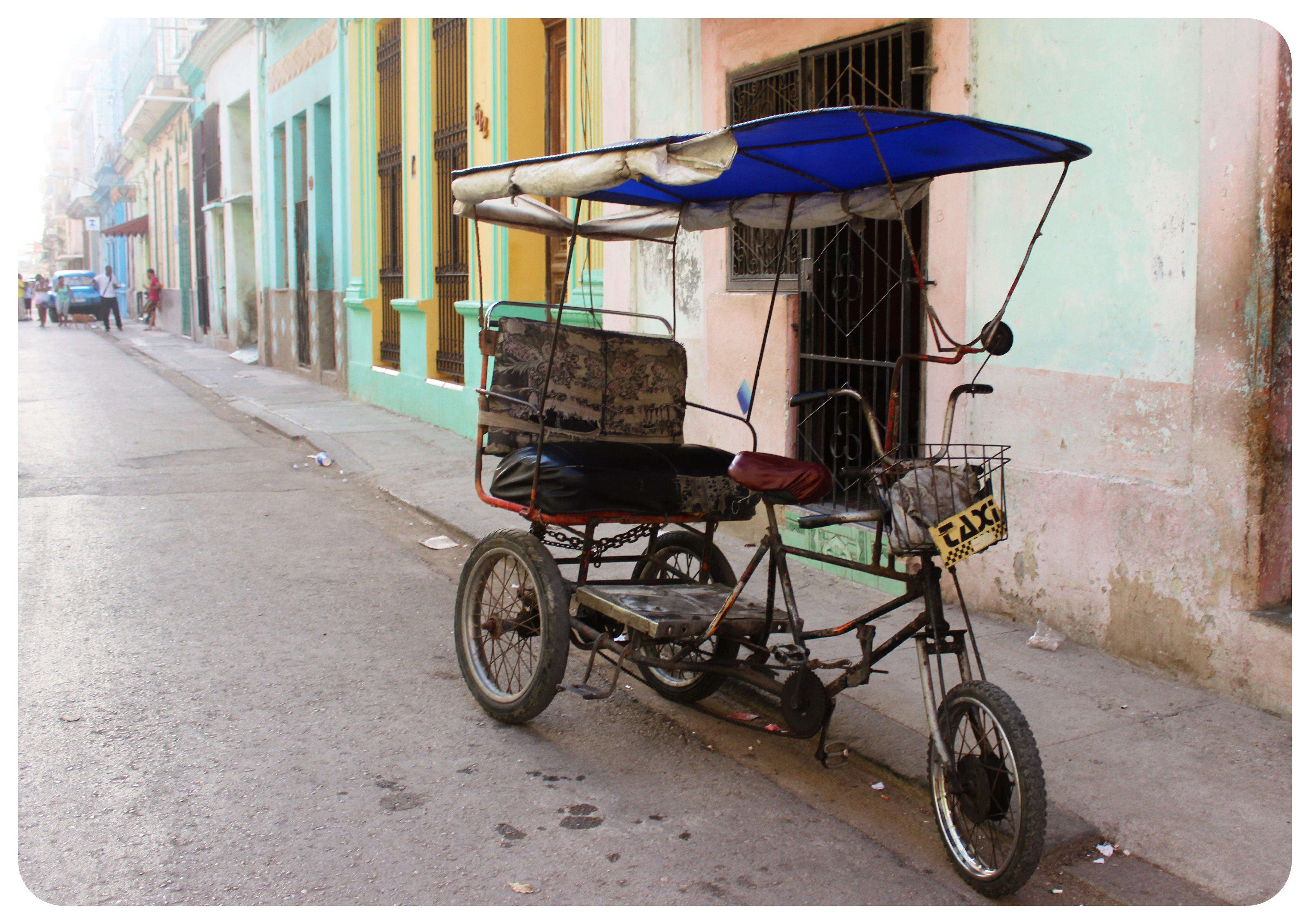 havana cycle taxi