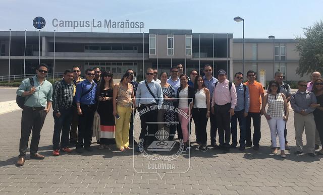 Estudiantes de la Maestría en Ciberseguridad y Ciberdefensa visitan España