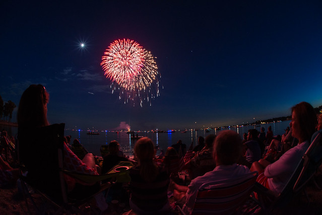 Rowayton Fireworks #2