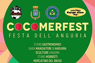 Noicattaro. Cocomerfest front
