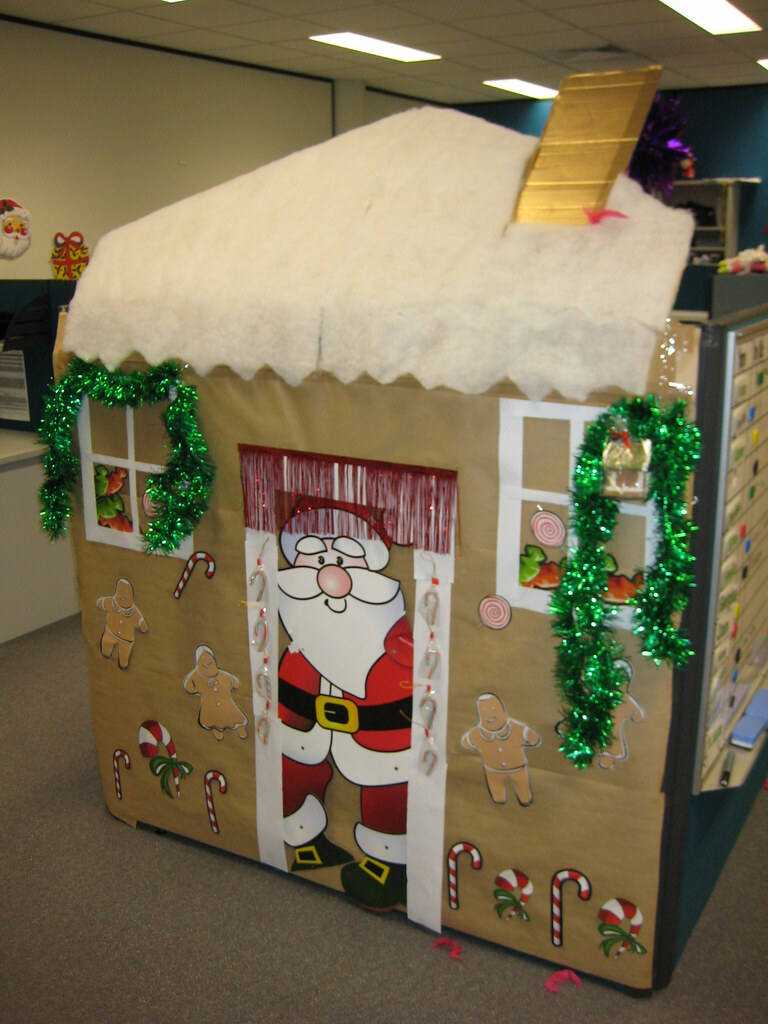 Cubicle Christmas Decorating Ideas Cubicle Christmas