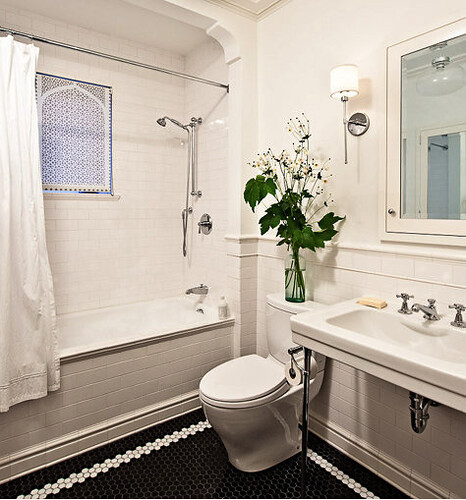 Black N White Bathroom: Flickriver: It's Great To Be Home's Photos Tagged With