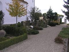 Nordsiden af Sædder Kirkegård
