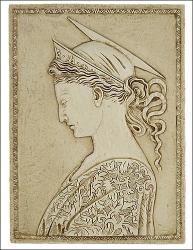Donatello - St. Cecilia as Artemis, sciattiato relief of Contessina de Bardi