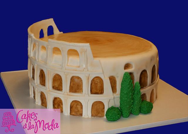 Birthday Cake In Rome Italy