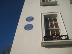 Photo of Walter Greaves blue plaque