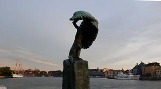 Estocolmo. Carl Milles: Vinga (Alas) 1911. 2
