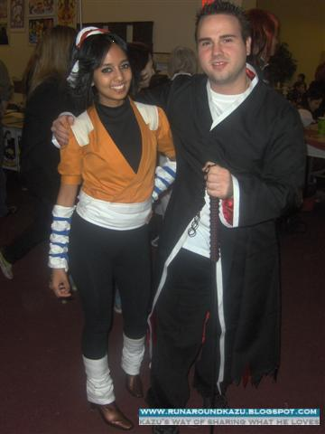 Theo with Yoruichi Shihoin