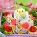 Somen Bird's Nest Bento by pikkopots