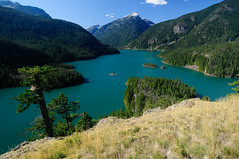 nature reserve, fjord, mountain, reservoir, mountain range, loch, lake, body of water, ridge, tarn, fell, crater lake, wilderness, mountainous landforms,