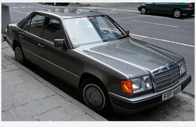 Flickr photo sharing for 90s mercedes benz