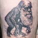 Darwin Tattoo Done! by thebossoms