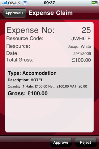 2. Expense claims