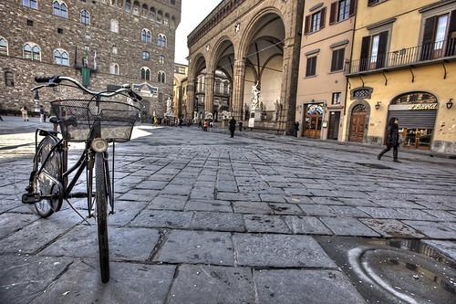 bicicletta alla signoria