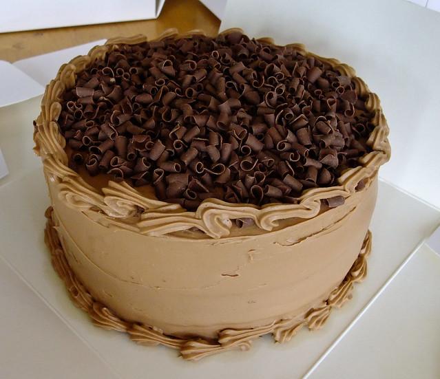 Simple Chocolate Cake | 3 layer simple chocolate cake | Flickr - Photo ...