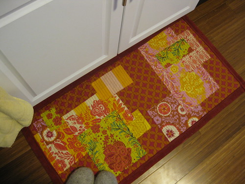 Patchwork Kitchen Rug