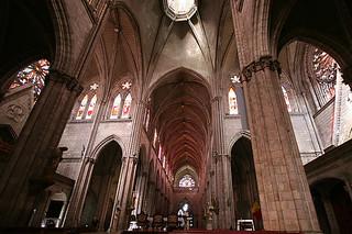 Heart of the basilica