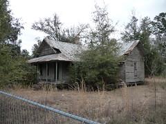 Abandoned House, Bagdad, FL
