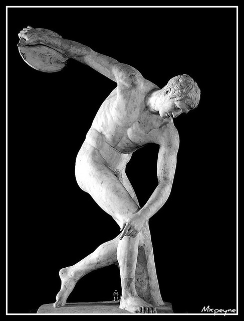 Discobolus | taken in istanbul archeology museum İstanbul Ar ...