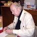 Gahan Wilson at his book signing at Fantagraphics