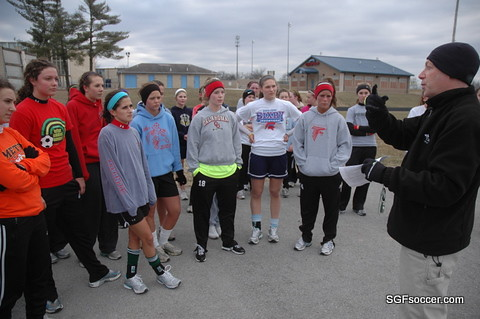 Glendale Lady Falcons Open With Acl Prevention Pep Program Flickr Photo Sharing