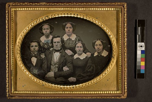 Portrait of unidentified family