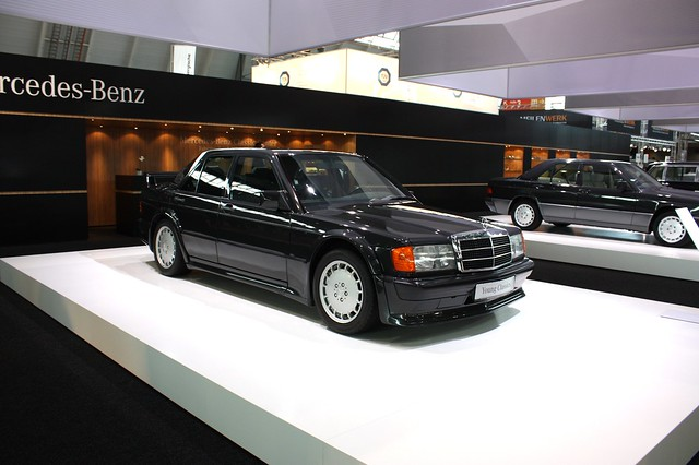 Mercedes-Benz 190E with 2.3-16 (Cosworth) engine, W201