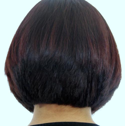 Pin Graduated Bob Back View Hairstyles Haircuts Short Medium Style Me ...