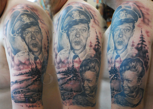 andy griffith show sleeve arm sleeve tattoos Image by Mez Love