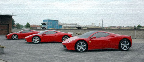 FERRARI MODELS FOR