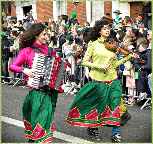 Happy Saint Patrick's Day 2010, Dublin, Ireland, the green luck, the green love, our impressions, the parade, enjoy! 17/03/2010 and so much more!:)