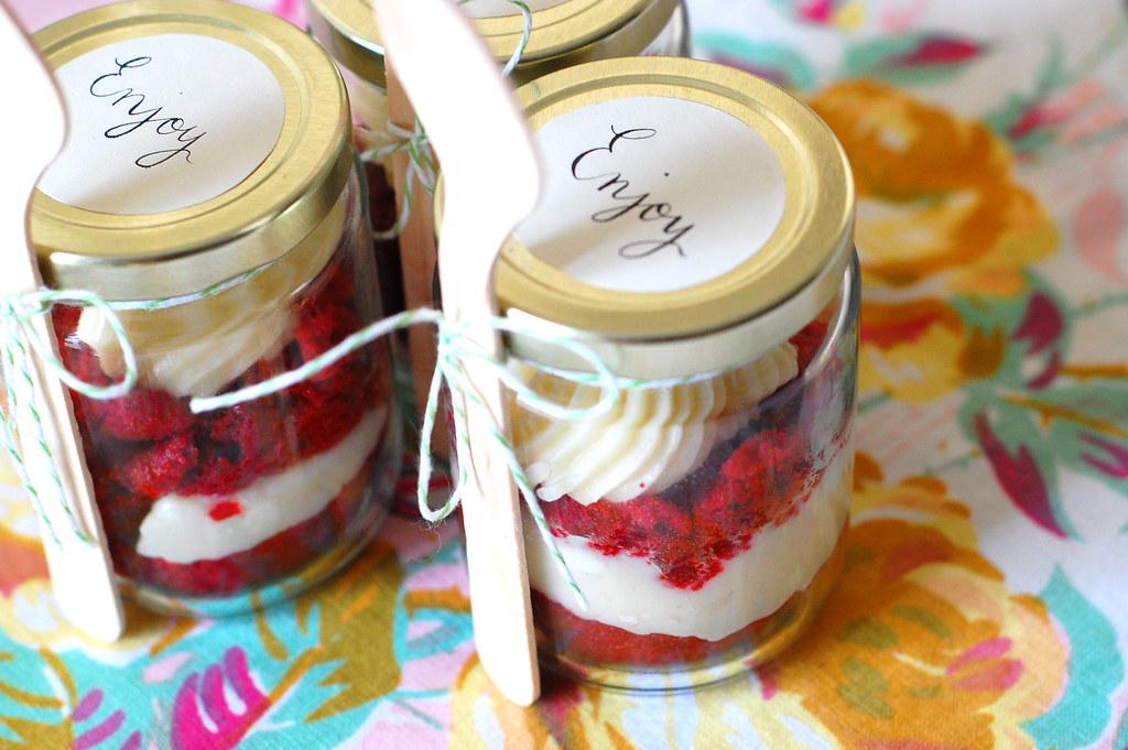 Cake Jar Designs : 25 Edible Neighbor Gifts - The 36th AVENUE
