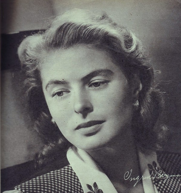 Ingrid Bergman | Flickr - Photo Sharing!