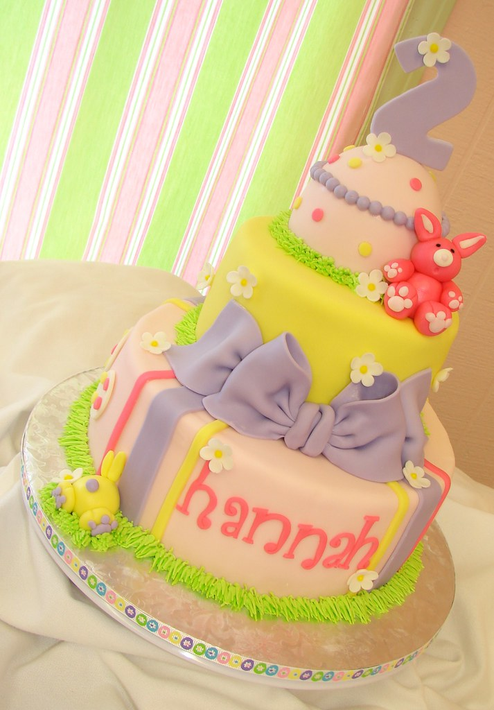 Hannahs Easter Birthday Cake A Photo On Flickriver