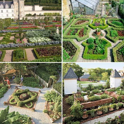 Potager gardens for Potager garden designs