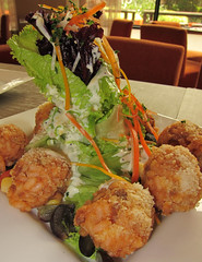 risotto ball salad