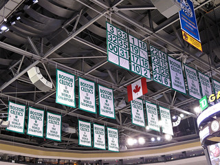 Boston Celtics Banners