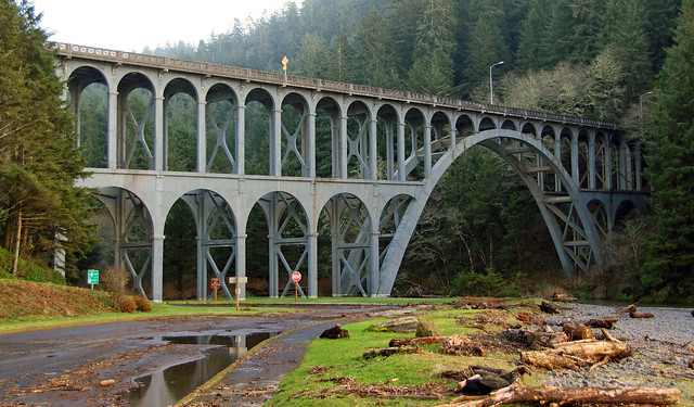 630 2 HiWay 101 Bridge-Heceta Head
