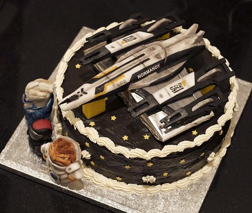 ME2 Birthday Cake