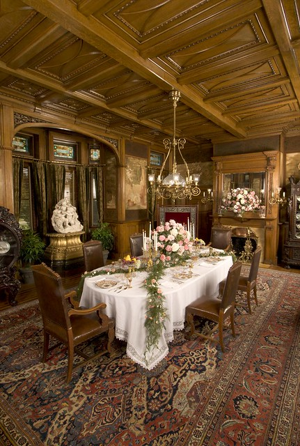Maymont Mansion Dining Room by Dennis McWaters   Flickr - Photo Sharing!
