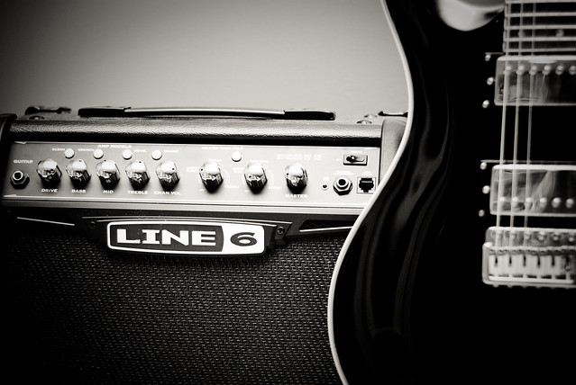 Photo:Guitar & Amp By Christopher Craig