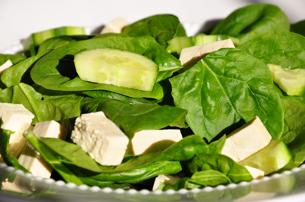 Spinach Salad 042210Th