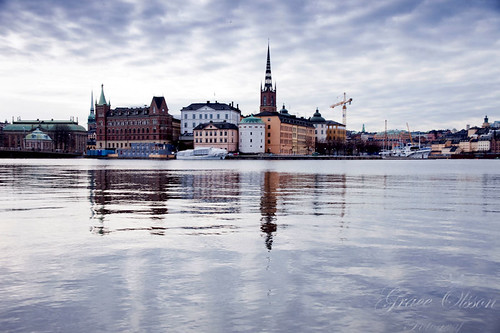 The reflection of Stockholm