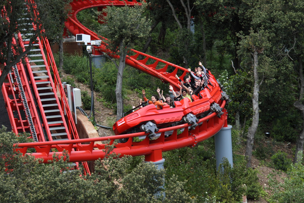 Roller Coaster - Tibidabo - Barcelona