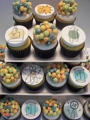 Science Fair Cupcakes