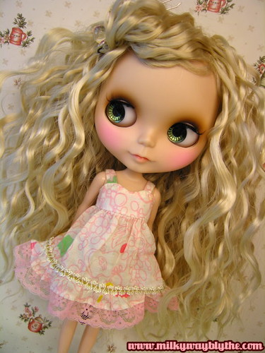 #CB-2754 Modern Girl Custom Blythe by Milky Way