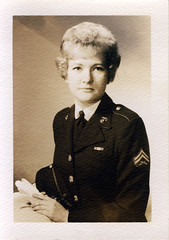 1960s Mom in uniform