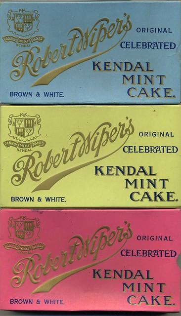 Kendal Mint Cake Nutritional Information