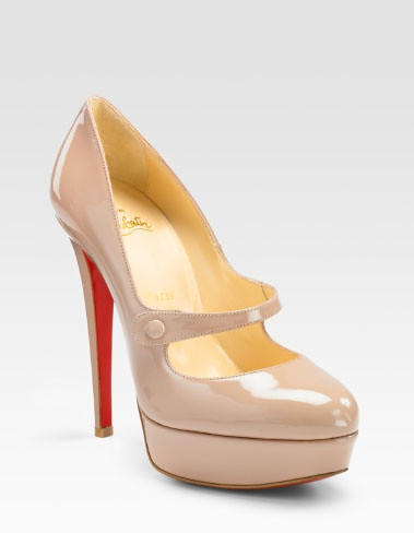 71ed37c6ef Christian Louboutin Relika Patent Mary Jane Pumps by SomethingInspiredMe